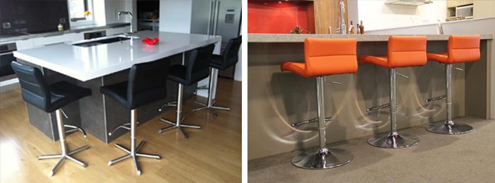 Restaurant Furniture Hire : Coloured bar stools nz