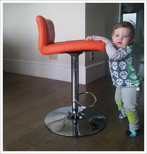 Baby Proof Bar Stools