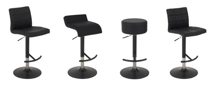Black Bar Stools NZ : black bar stools 5 from bar-stools.co.nz size 700 x 292 jpeg 67kB