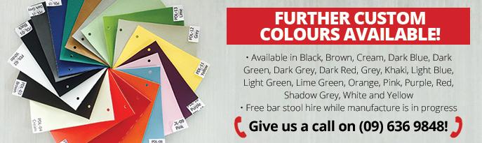 SMOOCH Bar Stool Colour Range